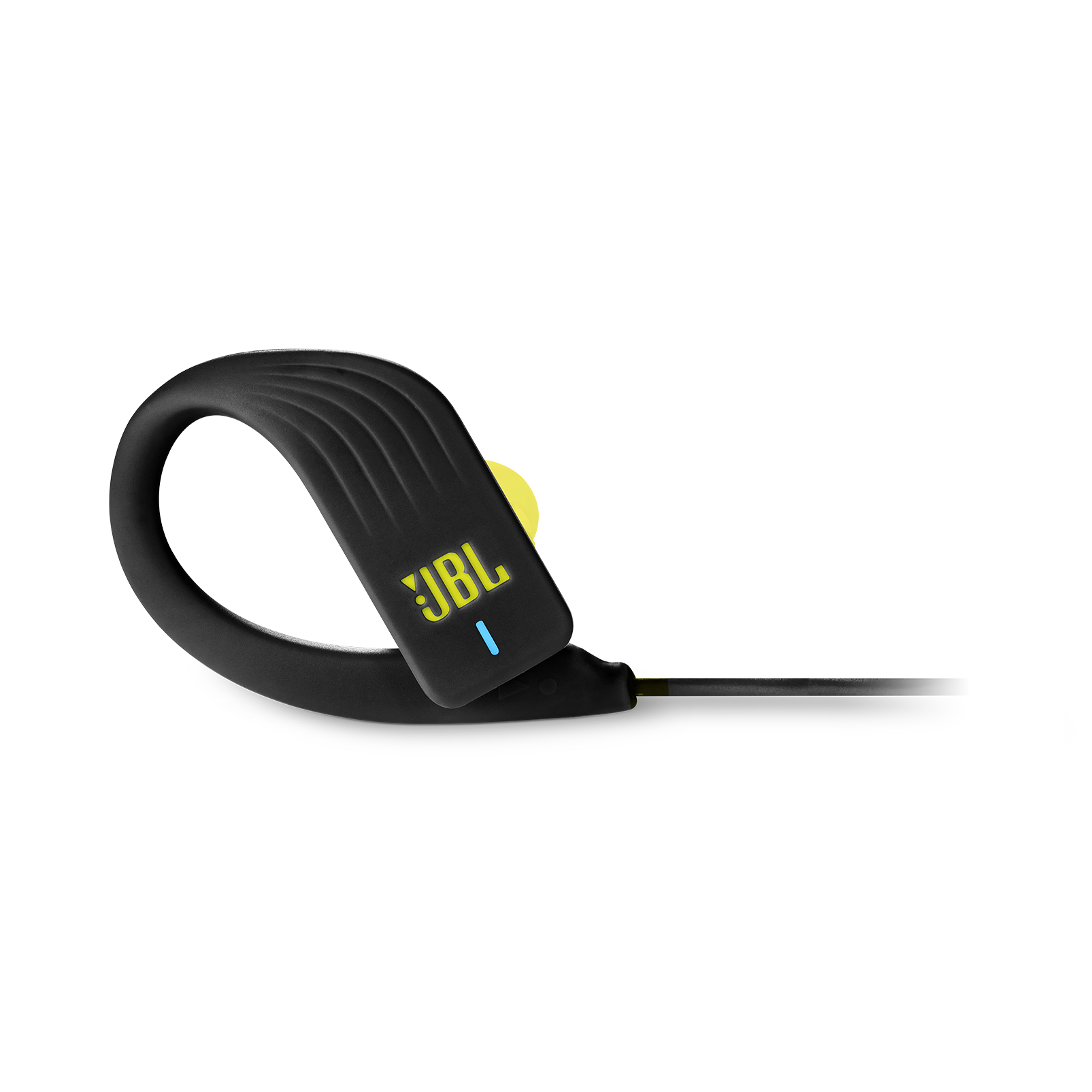 JBL Endurance SPRINT - Yellow - Waterproof Wireless In-Ear Sport Headphones - Detailshot 4