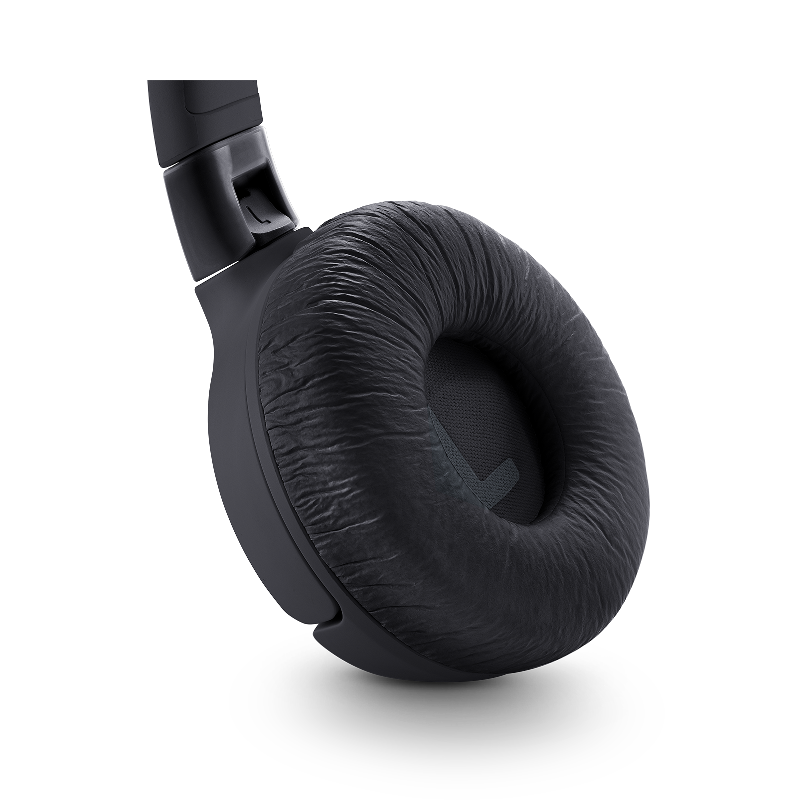 JBL TUNE 600BTNC - Black - Wireless, on-ear, active noise-cancelling headphones. - Detailshot 2