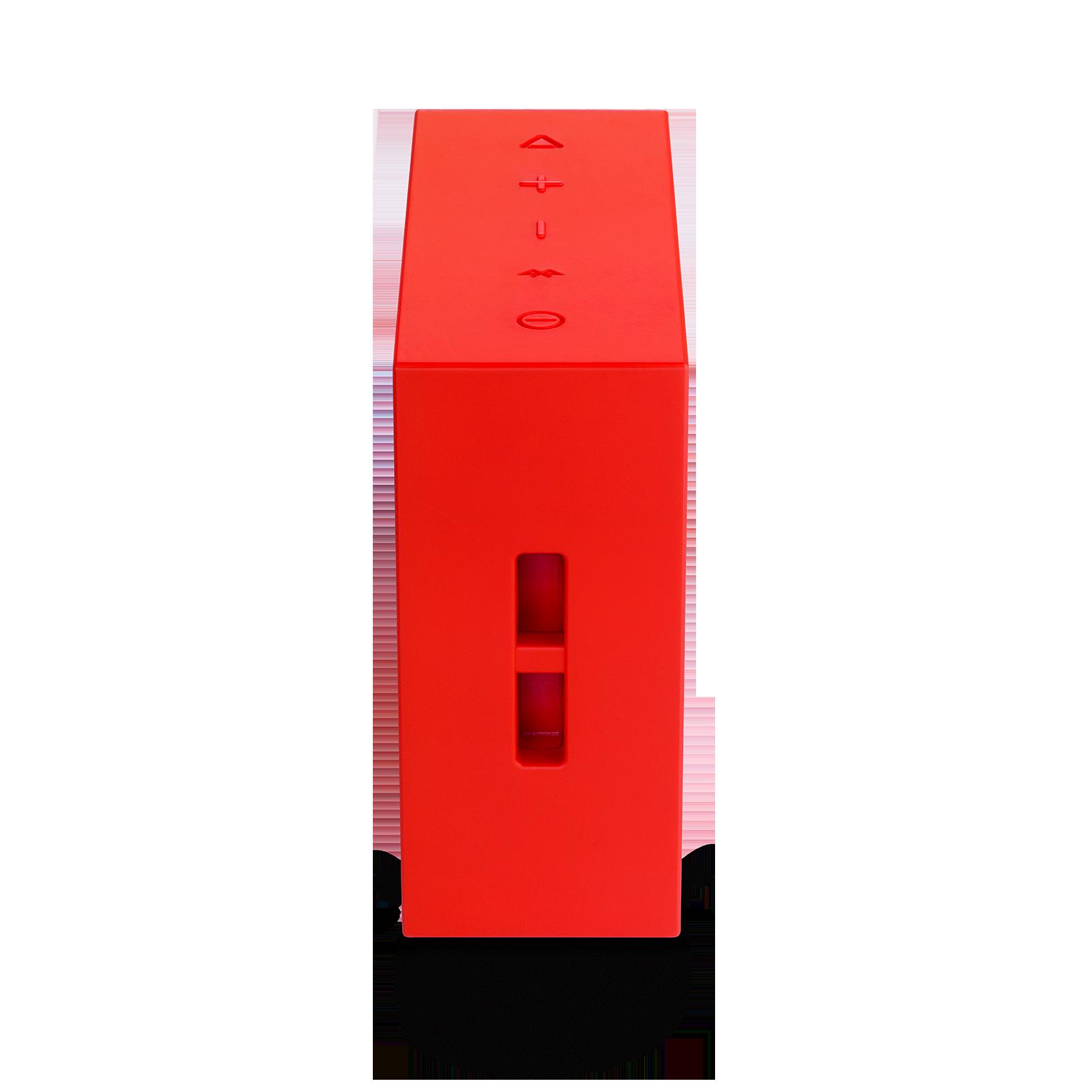JBL GO+ - Red - Portable Bluetooth® Speaker - Detailshot 1