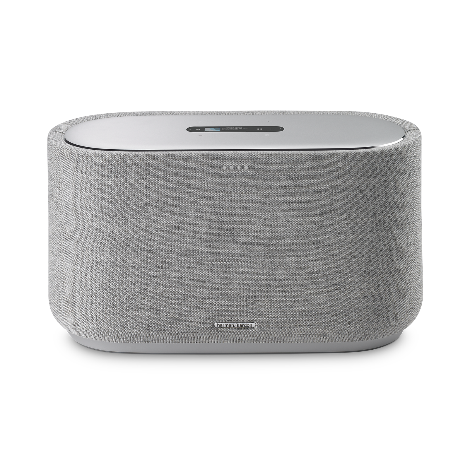 Harman Kardon Citation 500 - Grey - Large Tabletop Smart Home Loudspeaker System - Front