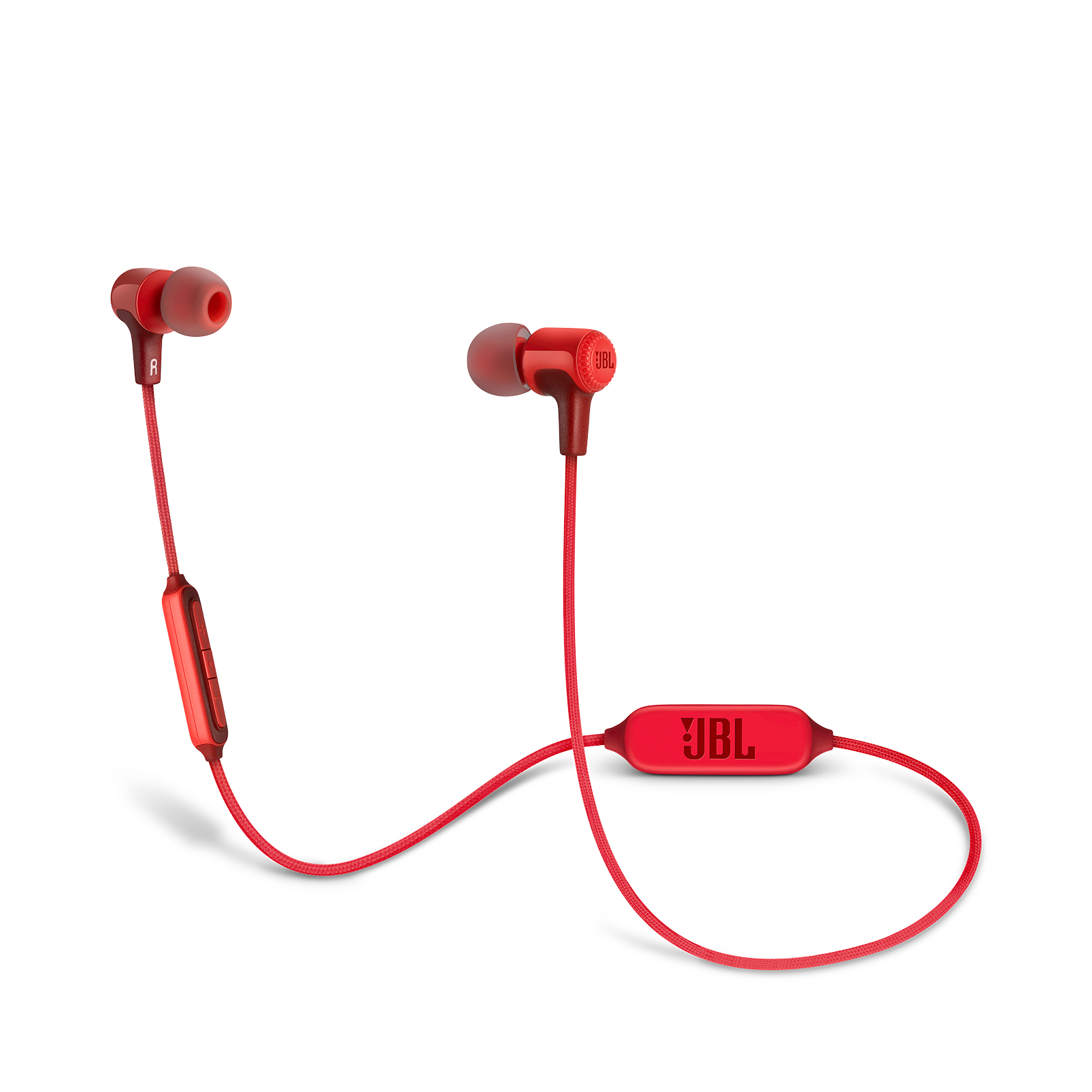 E25BT - Red - Wireless in-ear headphones - Hero