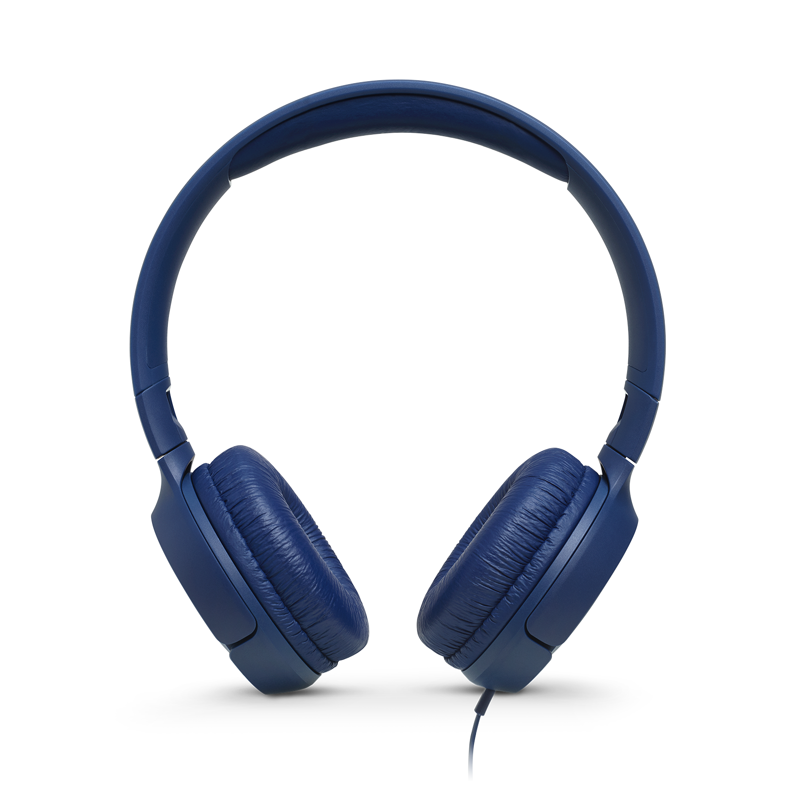 JBL TUNE 500 - Blue - Wired on-ear headphones - Front