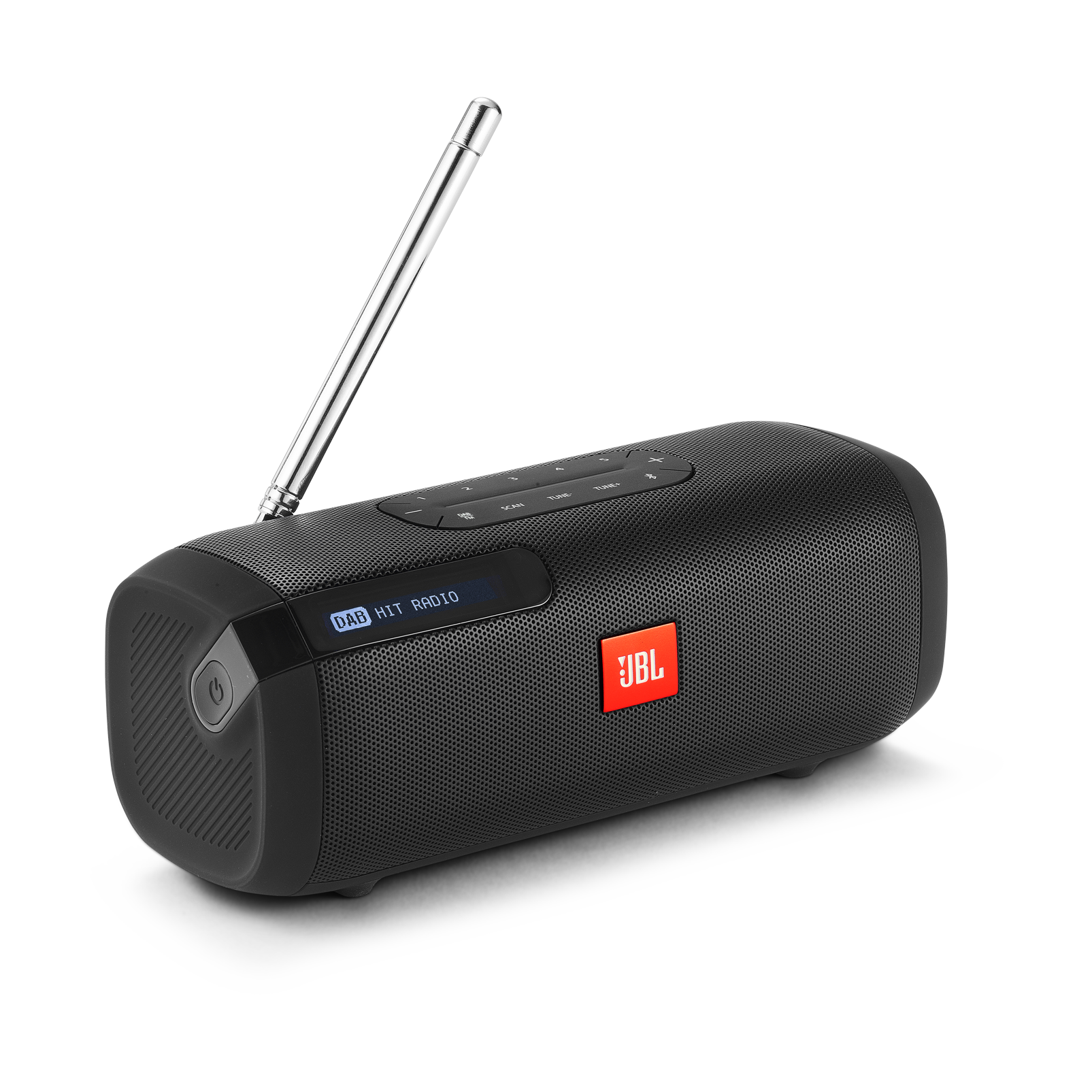JBL Tuner - Black - Portable Bluetooth Speaker with DAB/FM radio - Hero