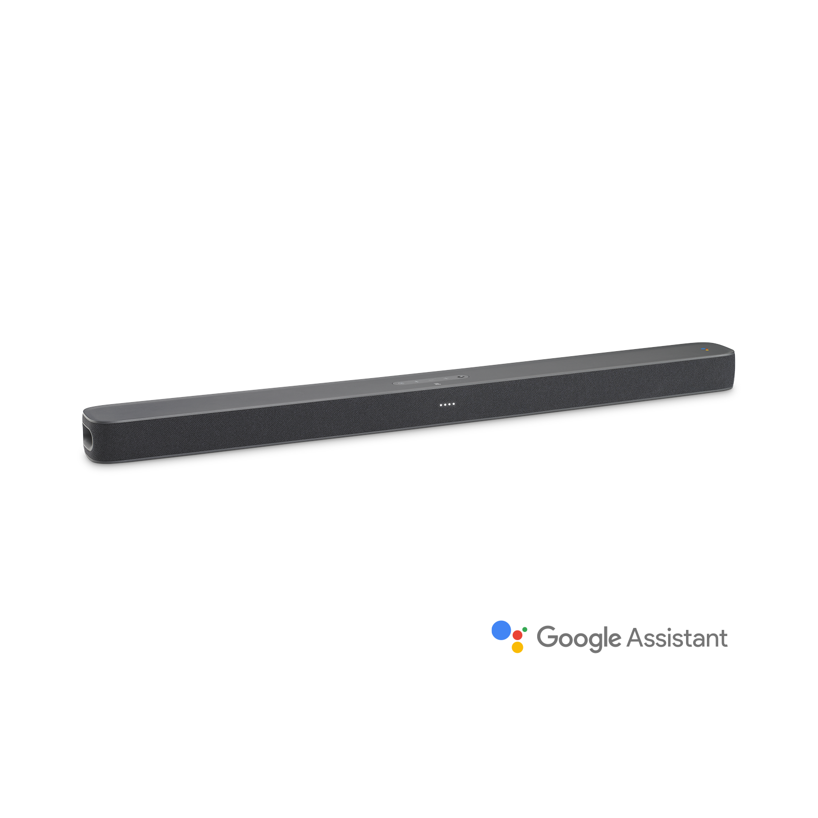 JBL LINK BAR - Grey - Voice-Activated Soundbar with Android TV and the Google Assistant built-in - Hero