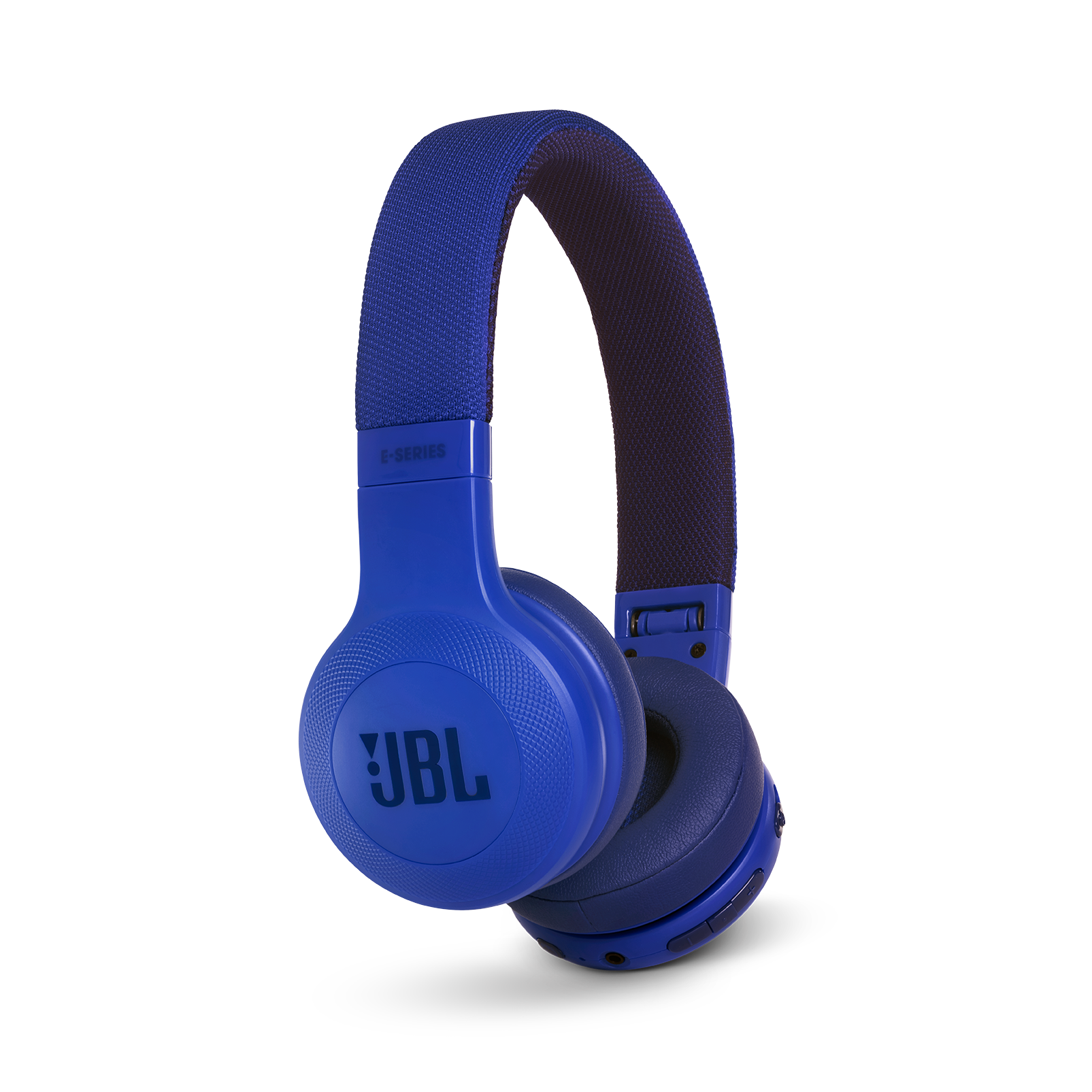 JBL E45BT - Blue - Wireless on-ear headphones - Detailshot 2