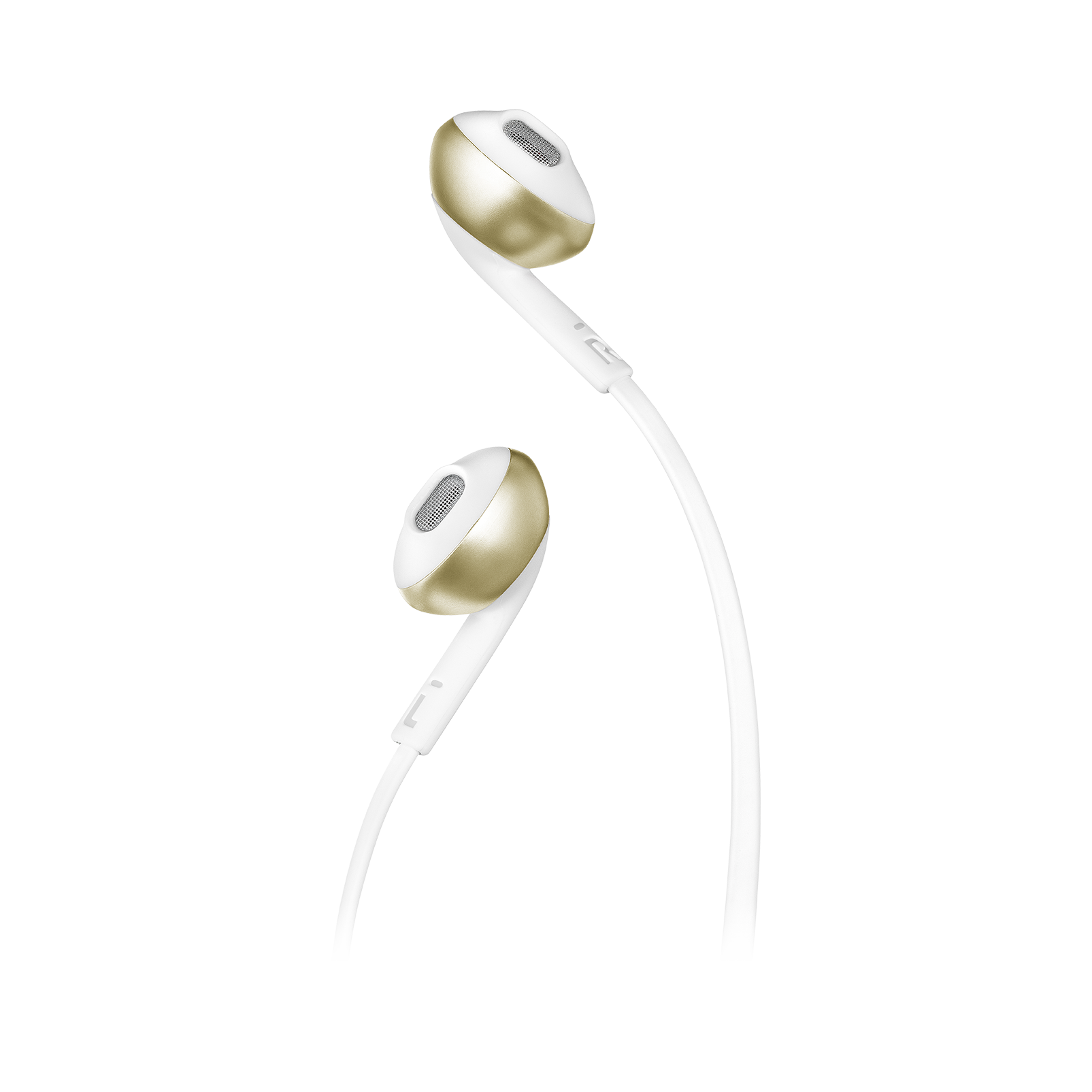 JBL TUNE 205BT - Champagne Gold - Wireless Earbud headphones - Detailshot 1