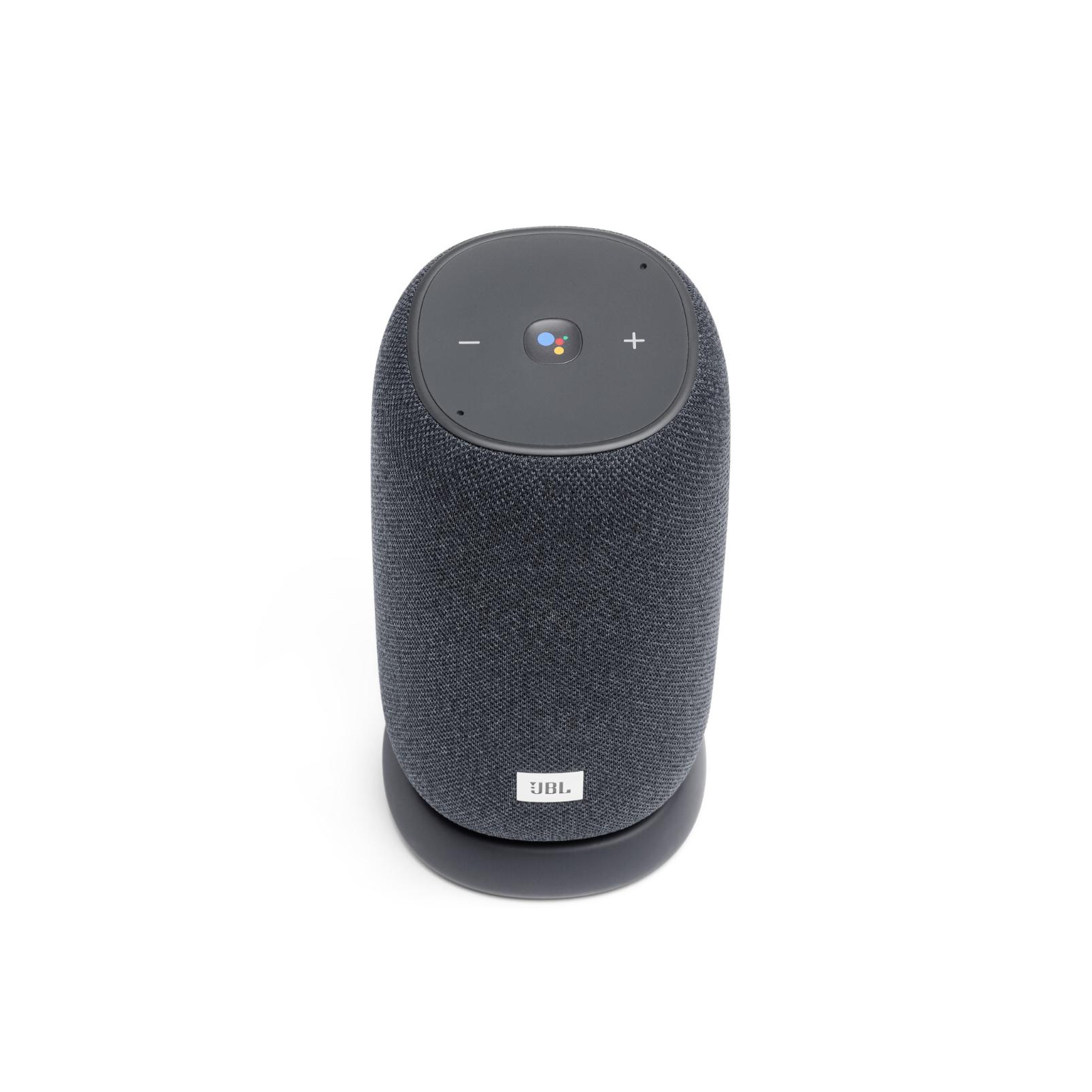 JBL Link Portable - Grey - Portable Wi-Fi Speaker - Front