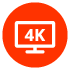 True 4K connectivity with 3 HDMI In/ HDMI Out (ARC)