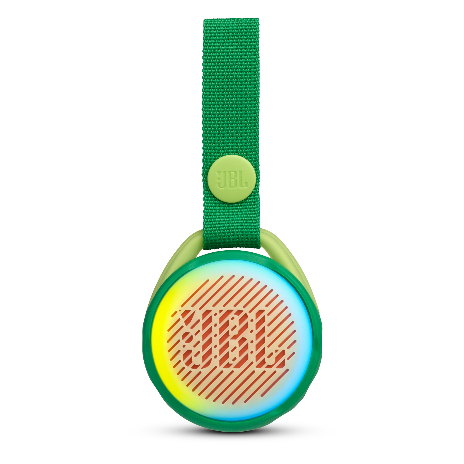 JBL JR POP - Froggy Green - Portable speaker for kids - Front