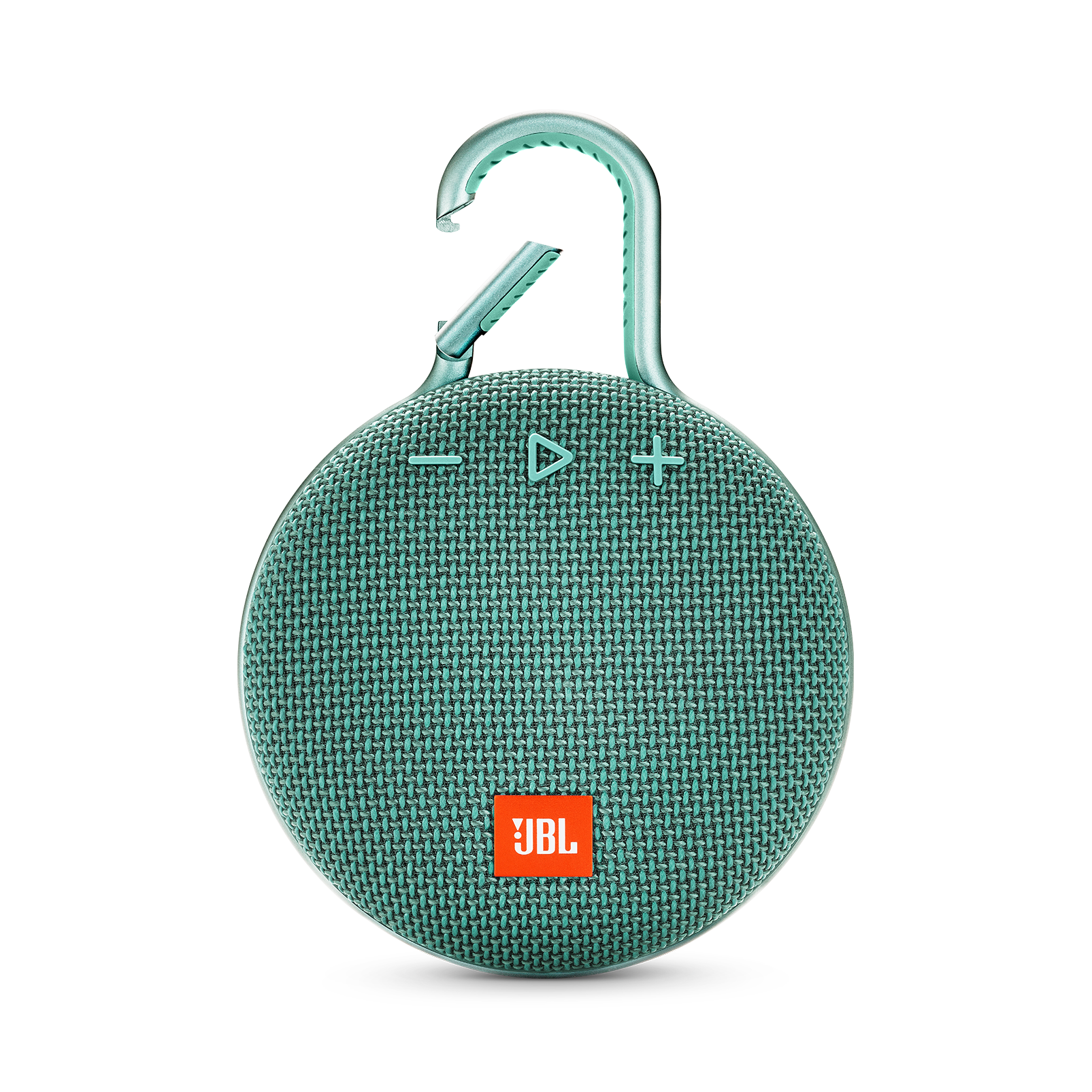 JBL CLIP 3 - River Teal - Portable Bluetooth® speaker - Front