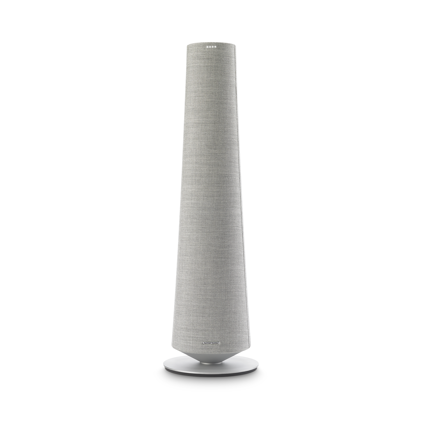Harman Kardon Citation Tower - Grey - Smart Premium Floorstanding Speaker that delivers an impactful performance - Front