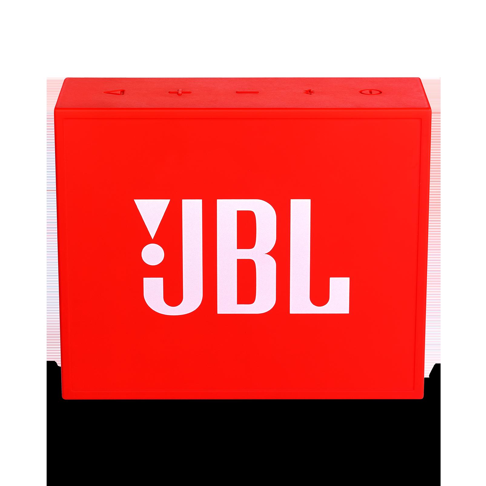 JBL GO+ - Red - Portable Bluetooth® Speaker - Back