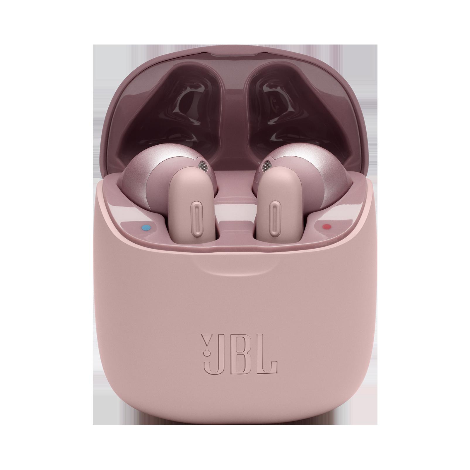 JBL TUNE 220TWS - Pink - True wireless earbuds - Detailshot 1
