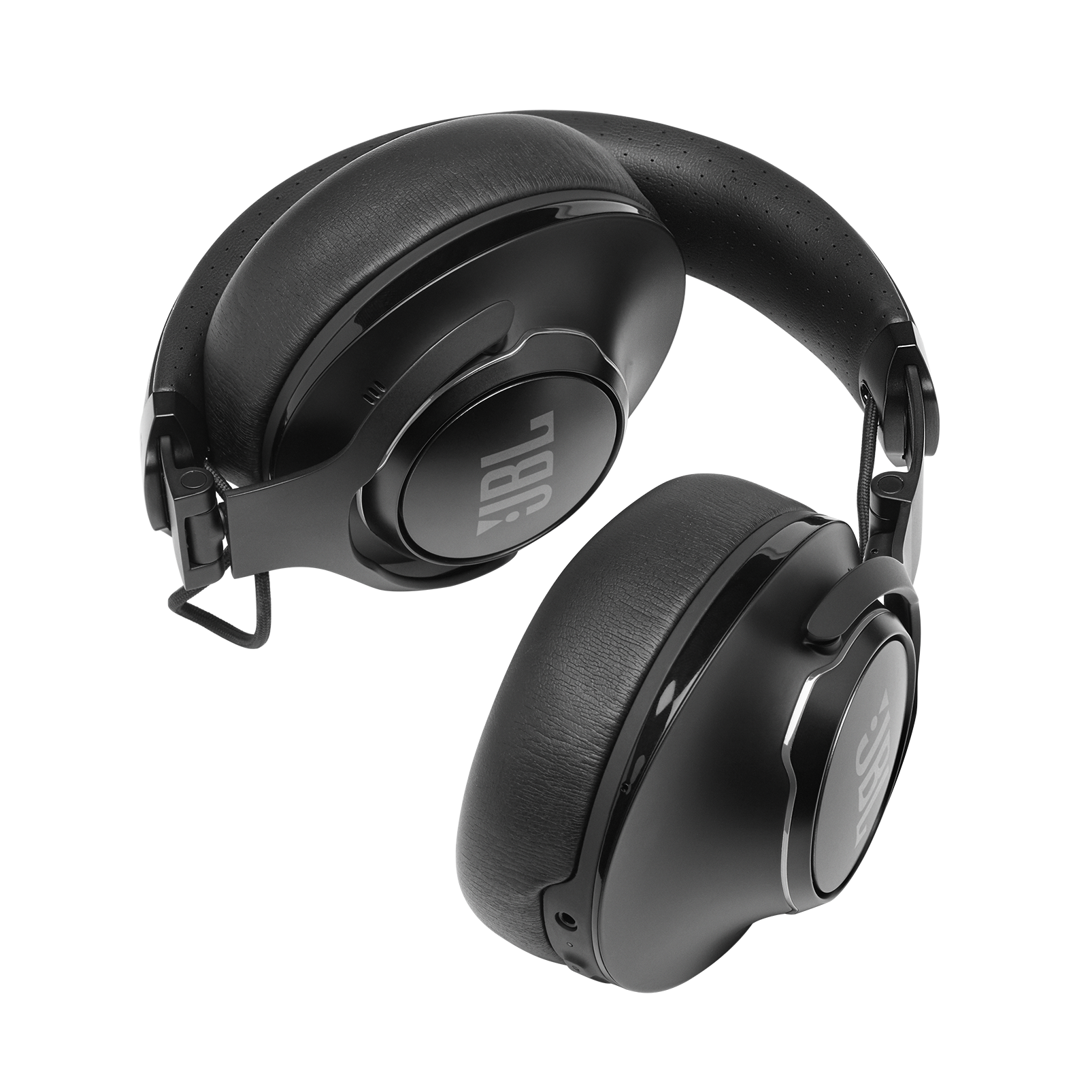 JBL CLUB 950NC - Black - Wireless over-ear noise cancelling headphones - Detailshot 4