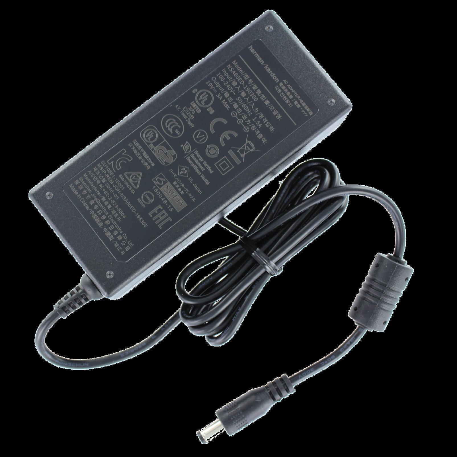 Power adapter, GoPlay mini - Black - Power adaptor - Hero