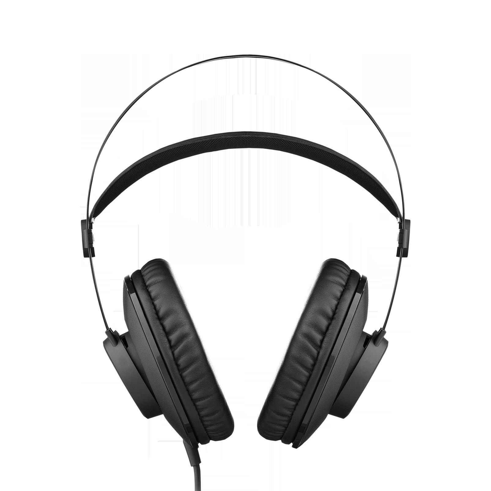 K72 - Black - Closed-back studio headphones - Front